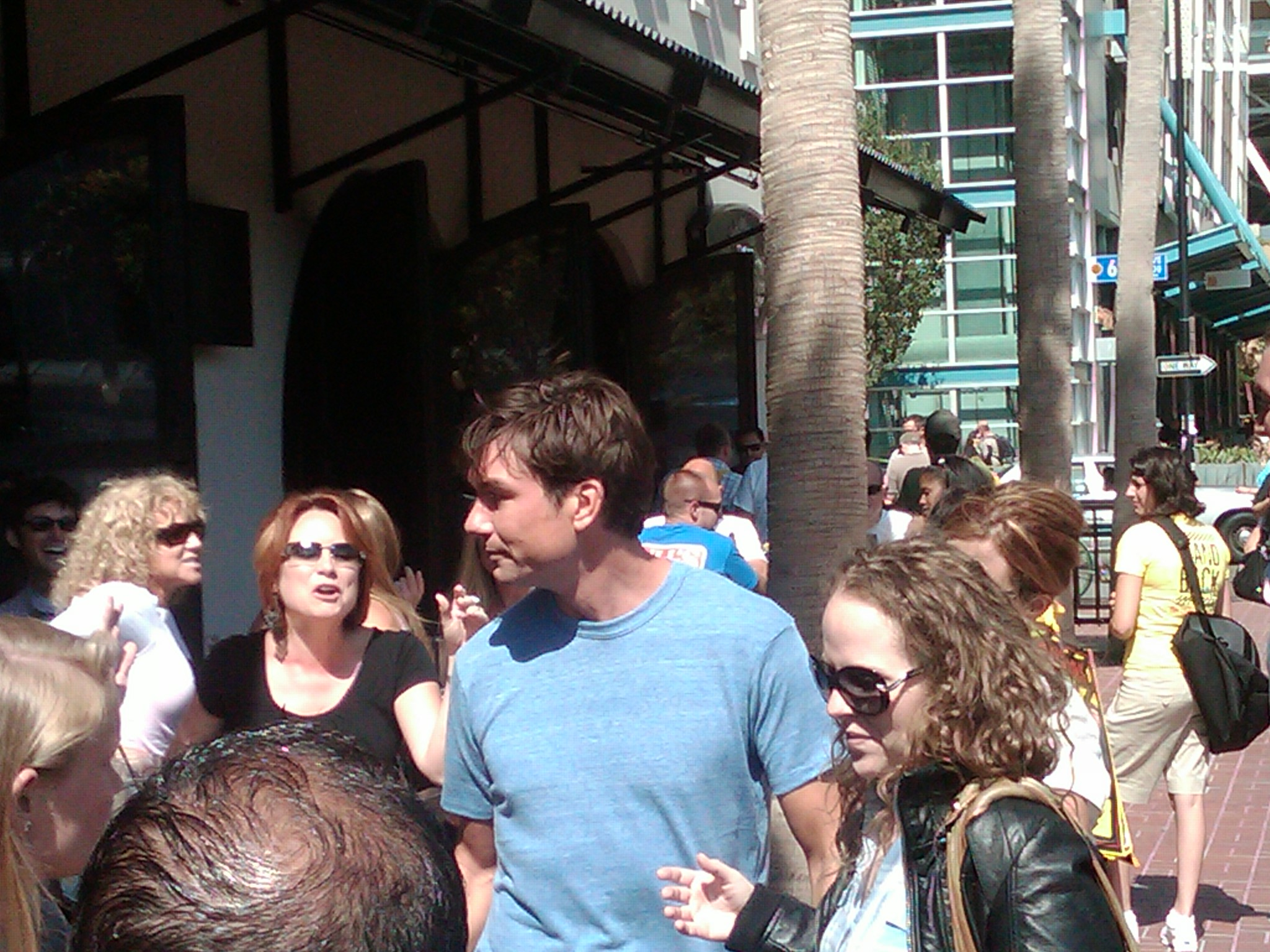 Actor Jerry O'Connell Comic-Con Downtown San Diego 92101
