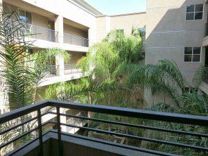 Union Square condo balcony view