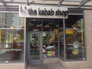 Kebab Shop Litle Italy beer Efes