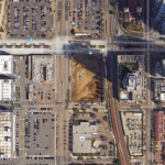 Pacific Gate Bosa condos Google Earth September 2015