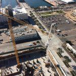 Pacific Gate Bosa condos aerial view (09.27.2015)