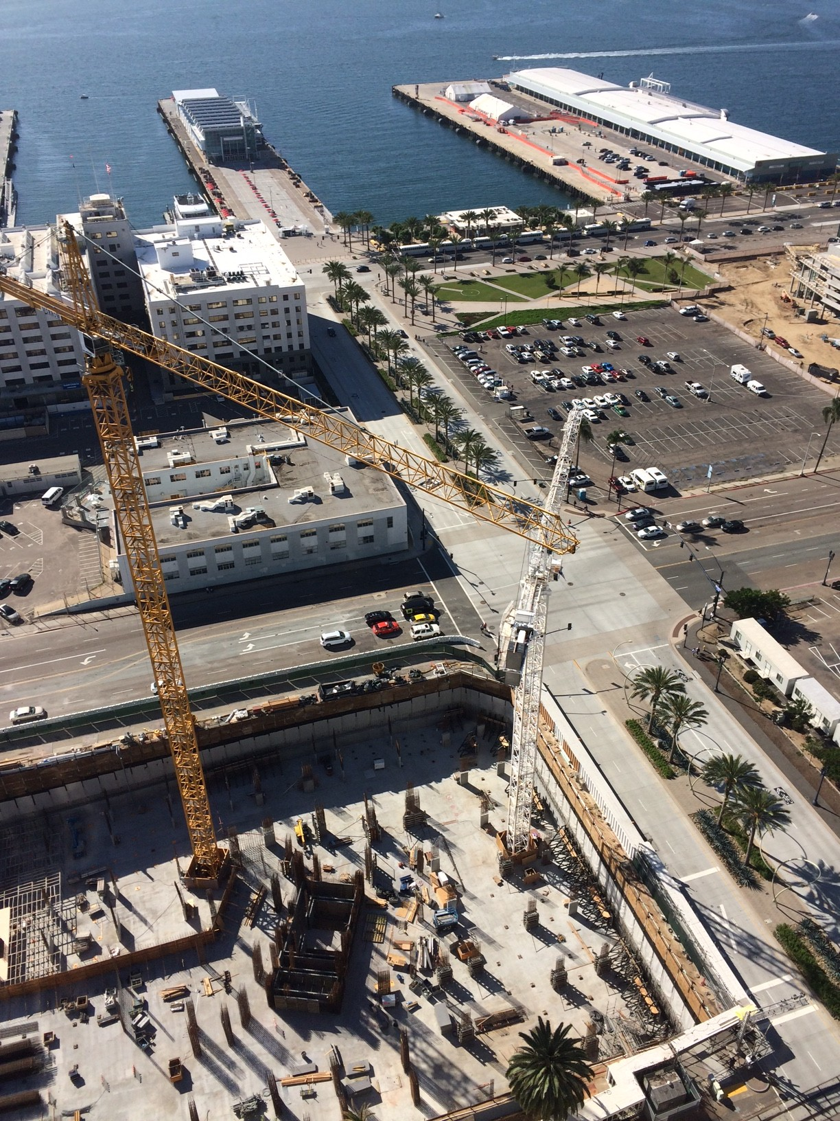 Pacific Gate Bosa condos aerial view (09.27.2015)